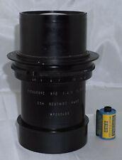 Eidoscope No. 2 f4.5 375mm Som Berthiot Paris Soft Focus 8x10 Portrait Lens