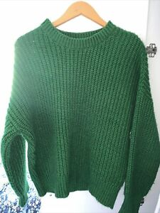 Orsay Green Knitted Jumper Size Small