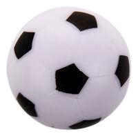 Petit Football Baby-foot Dure Balle Table Homo logue Jeu Jouet Enfant blanc V4W8