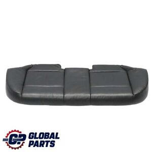 *BMW 3 E46 Touring Rear Seat Bench Couch Cover Leather Montana Schwarz