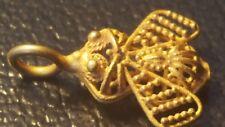 SUPERBE ROMAN GOLD Bee Pendentif