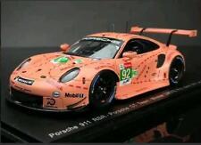 Estre Vanthoor Porsche 911 RSR 24 Hours Lemans 2018 1/43 Spark Pink Pig Le Mans