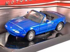 Mazda MX-5 Blue, 1/24 Scale G LGB Diecast Model Car