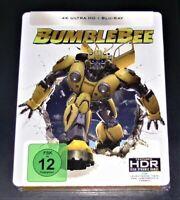 Bumblebee 4K Ultra HD blu ray + Limitée steelbook Édition Neuf & Ovp