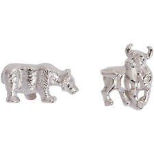 BULL AND BEAR CUFFLINKS MANUFACTURERS DIRECT PRICING!!!!!!
