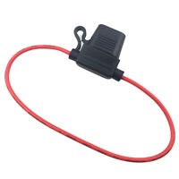 CG_ Waterproof Car Auto Vehicle PVC Safety Fuse Holder Case Fuseholder with Wire