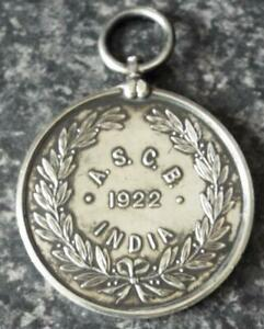 Army Sport Control Board India 1922 Silver Military Medal