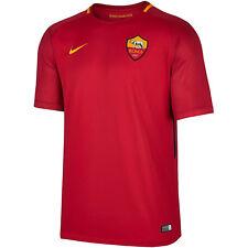 Nike T-shirt AS Roma Uomo 2017-2018 Rosso M