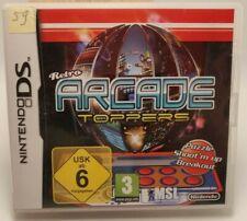Retro Arcade Toppers Nintendo DS, NDS, 2DS / 3DS Spiel mit Hülle CiB