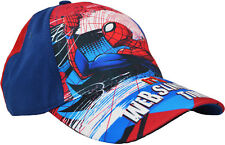 Childrens Spiderman Baseball Cap Official Marvel Adjustable Summer Sun Hat 60174