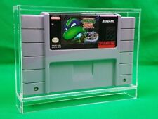 Nintendo Snes cartridge Video Game Display Case By Canadian Acrylic Display