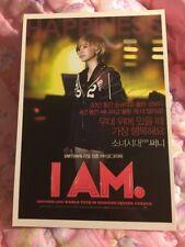 SNSD SM I AM Sunny Smtown Live Tour Girls Generation Postcard Card Kpop K-pop