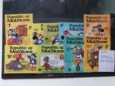 Maldives 1979 Int Year of the Child (2nd issue) Disney characters set of 9, MNH