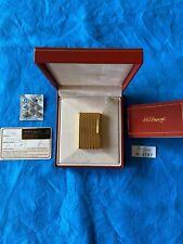 S. T. Dupont Feuerzeug Gold Line 1 Große Model