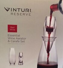 Vinturi Red Wine Aerator & Carafe 8 Piece Set
