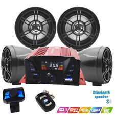 ATV, Anti~Theft Speakers USB Audio System Stereo Bluetooth Motor Remote