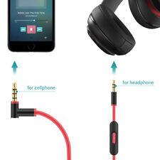 Replacement Beats Solo/Pro/Studio/Detox Wireles Headphone Control Talk Cable 2.0