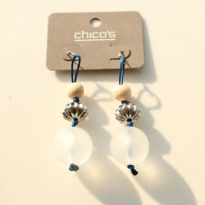 New Chicos Beads Drop Dangle Earrings Gift Fashion Women Party Holiday Jewelry