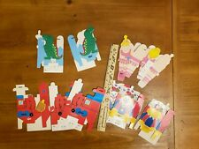 Lot Of 10 Vintage Russ Berrie & Co. Folding Kid Tiny Gift Boxes
