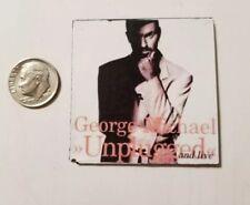 Miniature record  Barbie Gi Joe 1/6  Playscale  George Michael Unplugged