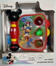 Disney Mickey Mouse Clubhouse - My First Learning Book with light and sound NEW