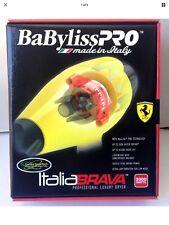 BaByliss Pro Italia Brava Professional Luxury Dryer 2000 Watt FERRARI DESIGN NEW