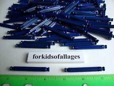 "100 KNEX DARK BLUE RODS 2 1/4"" Bulk Standard Replacement 2.25"" Parts/Pieces Lot"