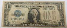 1928 $1 SILVER CERTIFICATE ONE DOLLAR BILL
