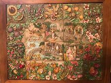 Harmony Kingdom Bryon's secret garden complete 20 tiles box set with frame