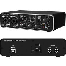 BEHRINGER U-PHORIA UMC202HD scheda audioUSB registrazione da microfoni strumenti