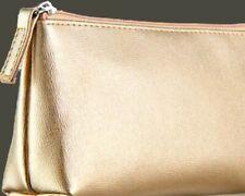 Avon Gold Cosmetic Bag.