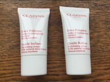 CLARINS Gentle Refiner Exfoliating Cream Natural microbeads 2 x 15 ml New Travel
