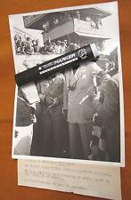 RARE Original photograph Bruni 1935 Italian Grand Prix Hans Von Stuck Auto Union