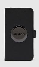 Mimco MIM iPhone XR Flip Phone Case Black Gunmetal