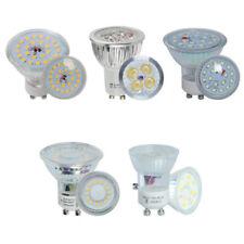 10/4x Ampoule LED SMD 3W 4W 5W 6W 7W GU10 Projecteur Downlight Chambre à coucher