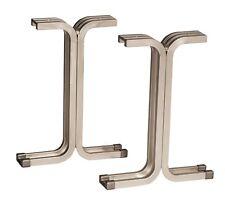 NF58203 3-Pack Aluminum Pedestals Lightweight 15-1/4″h NEW IN BOX 3 PEDESTALS