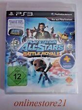 PlayStation All Stars Battle Royale PlayStation 3 NEU PS3