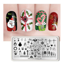 Born Pretty Nail Stamping Plate Rectangle Nail Stamp Image Plate Christ