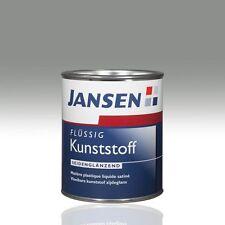 Jansen Flüssig-Kunststoff steingrau 7030 0,75l Flüssigkunststoff