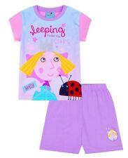 Ben and Holly chicas durmiendo bajo las estrellas Corto Pijamas-edades 1 - 6 años
