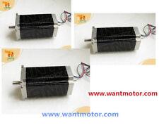 USA free!3pcs Nema23Wantai stepper motor Dual Shaft 57BYGH115-003B 3.0A 425oz-in