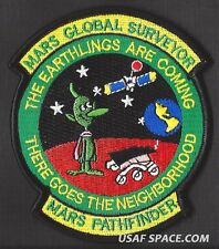 NASA MARS GLOBAL SURVEYOR SATELLITE PATHFINDER ROVER JPL SPACE PATCH - MUST SEE