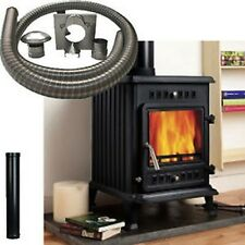 Joule 5 kW Multi Fuel Wood Burning Stove Fire With 6 Metre Installation Kit