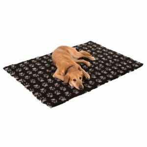 Thick MACHINE WASHABLE Paw Pet Blanket Dog Warm Cosy HYPOALLERGENIC Non-Slip Bed