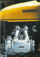 1976 Honda GL1000 Gold Wing  8 page Motorcycle Brochure NCS