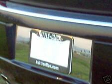 2005 CHRYSLER 300C STAINLESS STEEL LICENSE PLATE TRIM