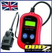 Ford fiesta 02-05 OBD2 Coche Lector De Código De Avería Obd escáner herramienta de diagnóstico nuevo Reino Unido
