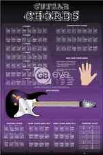 GUITAR CHORDS POSTER NEW GN0397 (G60LSE)