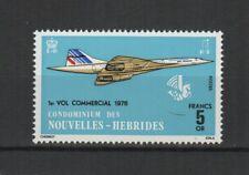 RF Nouvelles-hébrides 1976 légende anglaise Concorde timbre neuf MNH /TR7447