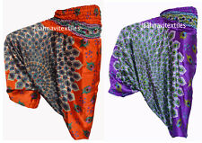 Set Of 2 INDIAN ALI BABA HAREM MOR PRINT YOGA WOMAN TROUSER HIPPIE